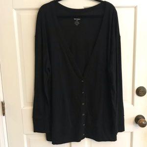 Black Old Navy Cardigan Size XL